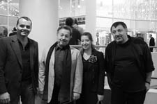 with Denis Smyslov, Samvel Avetisian and my daughter Maria